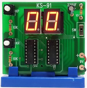 [KS-91] LED DISPLAY 100진 카운터